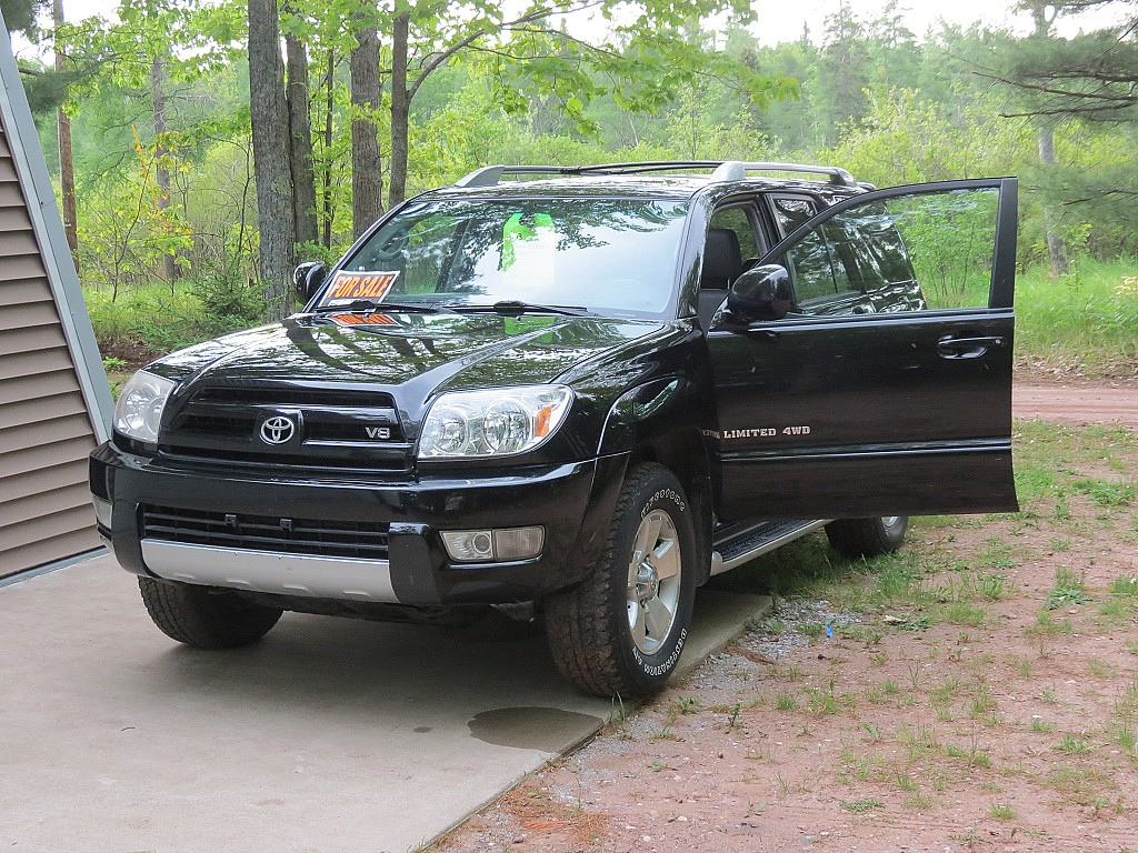 2008 toyota 4runner for sale by owner big bay michigan. Black Bedroom Furniture Sets. Home Design Ideas