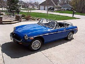 1977 MG MGB for sale by owner Tallmadge, Ohio