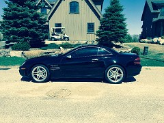 2007 Mercedes-Benz SL55 AMG for sale by owner Etobicoke, Ontario