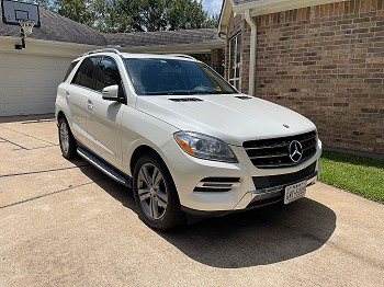 2014 Mercedes-Benz ML350 for sale by owner Cypress, Texas