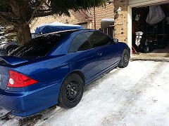 2005 Honda Civic Si-G for sale by owner Barrie, Ontario