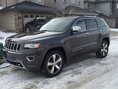 2014 Jeep Grand Cherokee for sale by owner Edmonton, Alberta