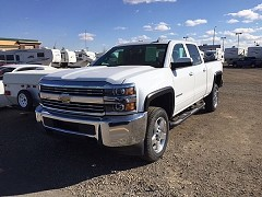 2015 Chevrolet Silverado 2500 for sale by owner Lethbridge, Alberta
