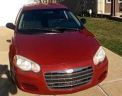 2005 Chrysler Sebring for sale by owner Taylor, Michigan