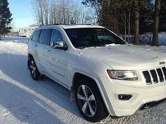 2014 Jeep Grand Cherokee for sale by owner Drayton Valley, Alberta