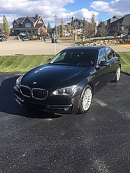 2013 BMW 750i for sale by owner Calgary, Alberta