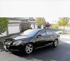 2011 Chevrolet Malibu LT for sale by owner Plato Center, Illinois